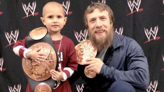 Connor and Daniel Bryan -Photo credit: WWE Community