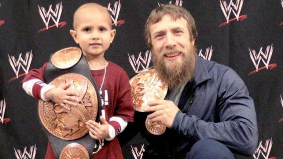 Connor and Daniel Bryan -Photo credit: WWE Community