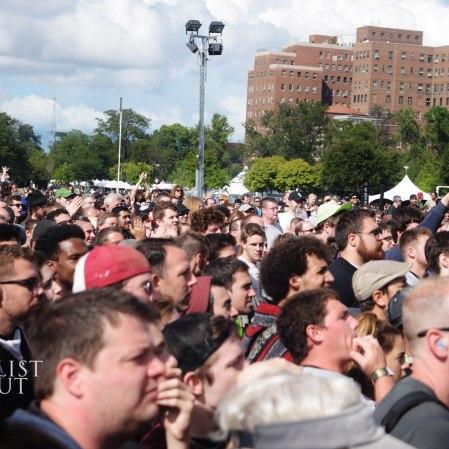 Living Colour Crowd