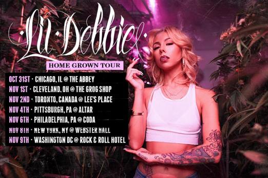 The Home Grown Tour Dates