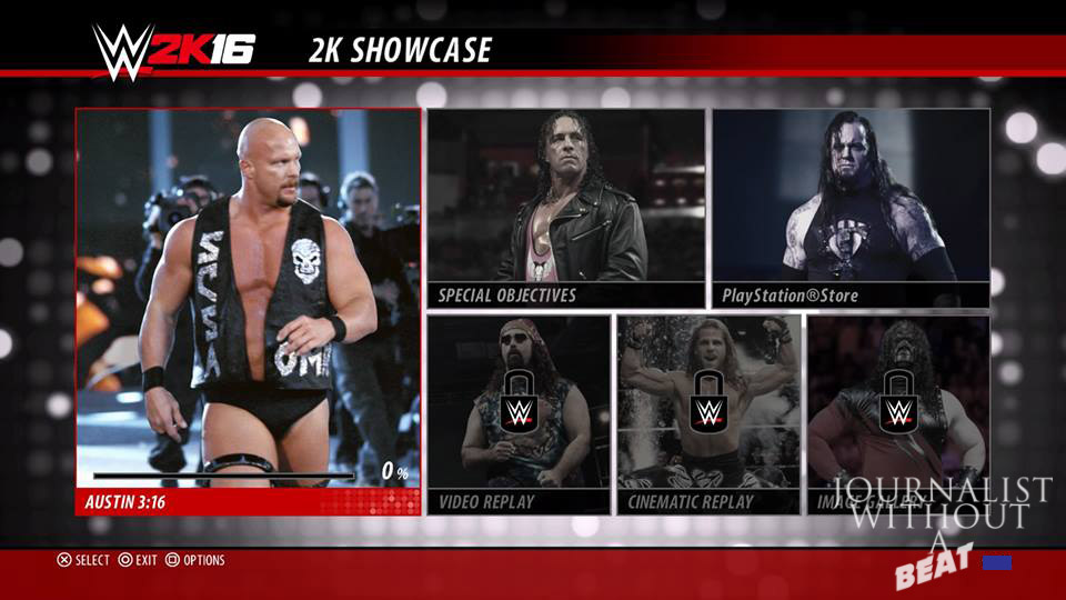 Stone Cold 2K Showcase