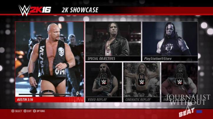 Stone Cold 2K Showcase