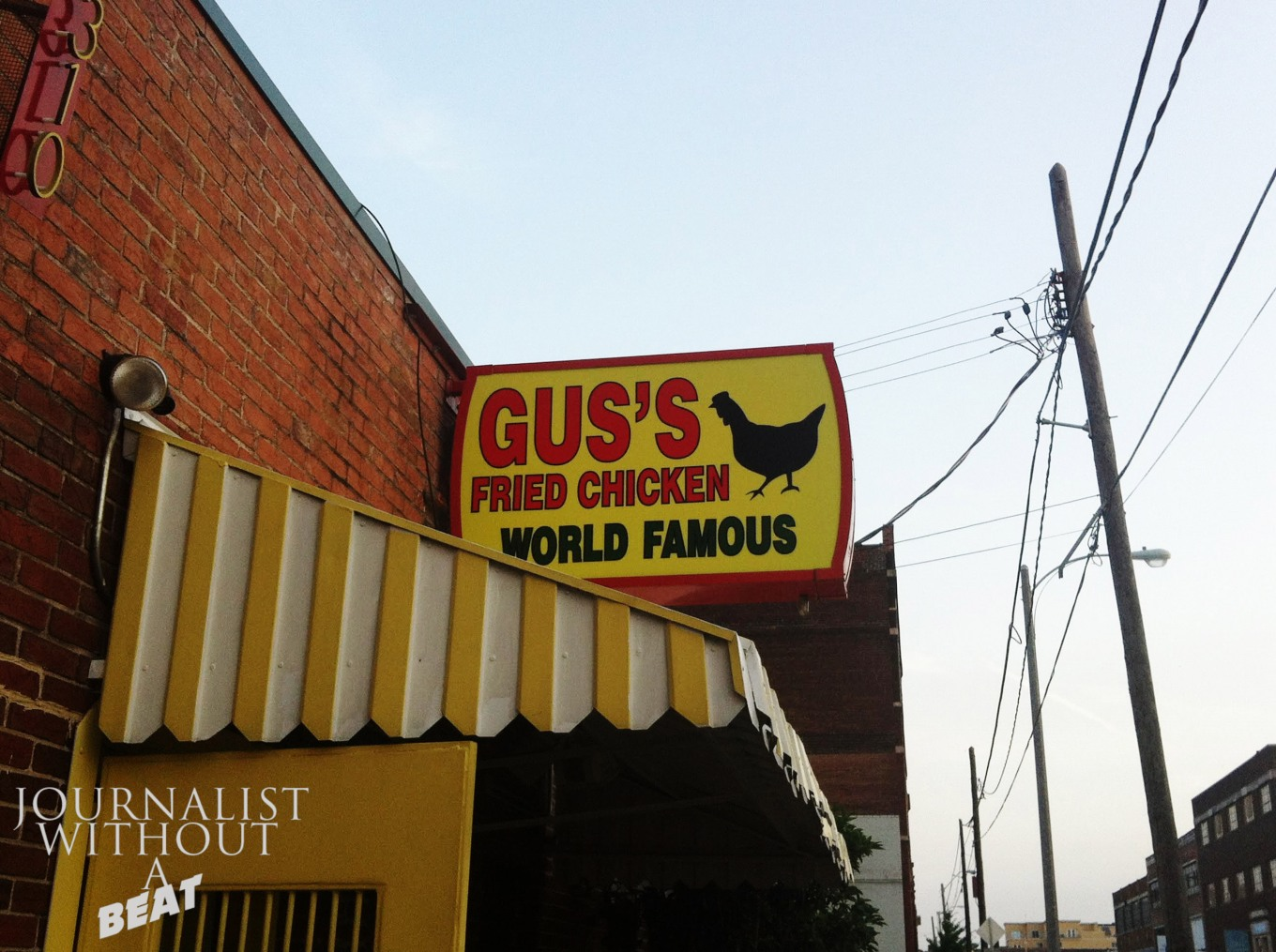 The original Gus's in Memphis, TN