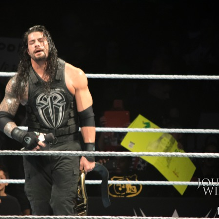 Roman Reigns is victorious