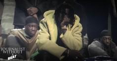 Young Thug models YEEZY SEASON 3