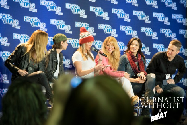 The Women of Arrow Panel