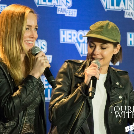 Caity Lotz & Willa Holland
