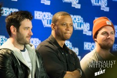 The cast of Arrow