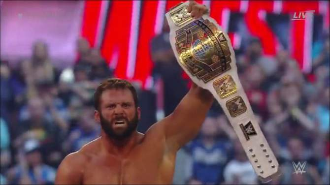 Zack Ryder captures WWE gold once again