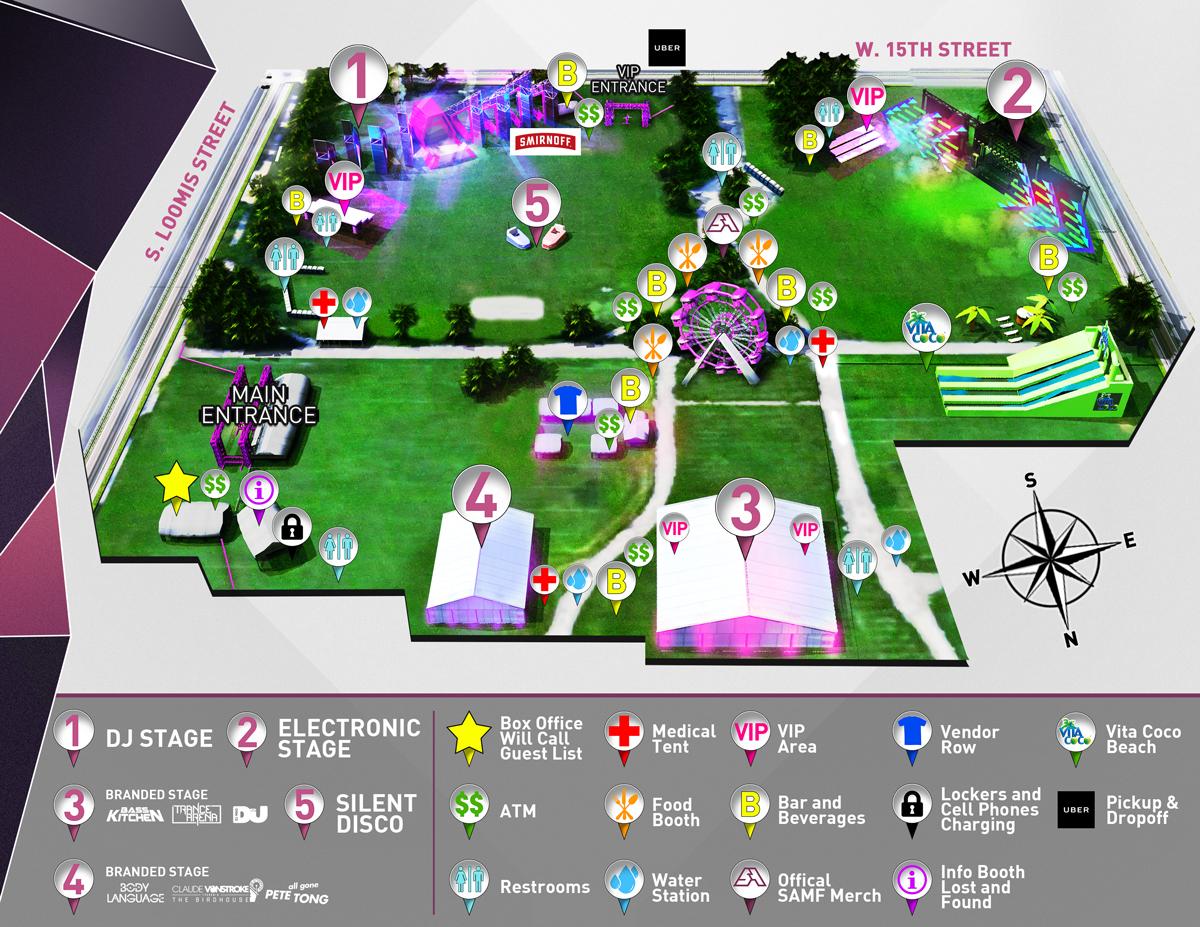 Spring Awakening 2016 Map
