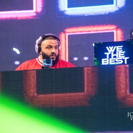 "DJ Khaled ""djing"" at Freaky Deaky 2016"