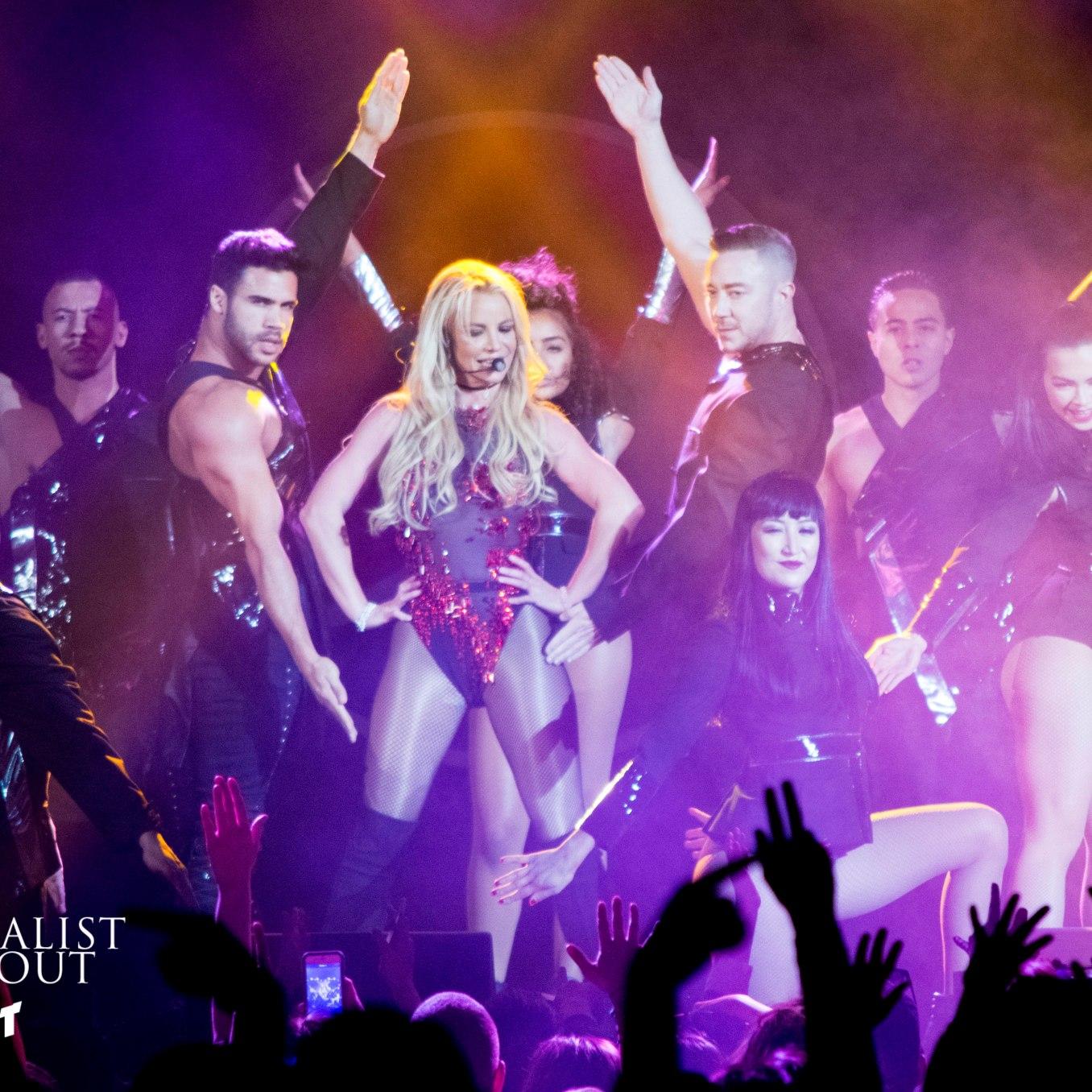 Britney Spears at B96 Pepsi Jingle Bash