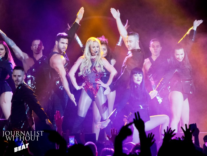 Britney Spears at B96 Pepsi Jingle Bash