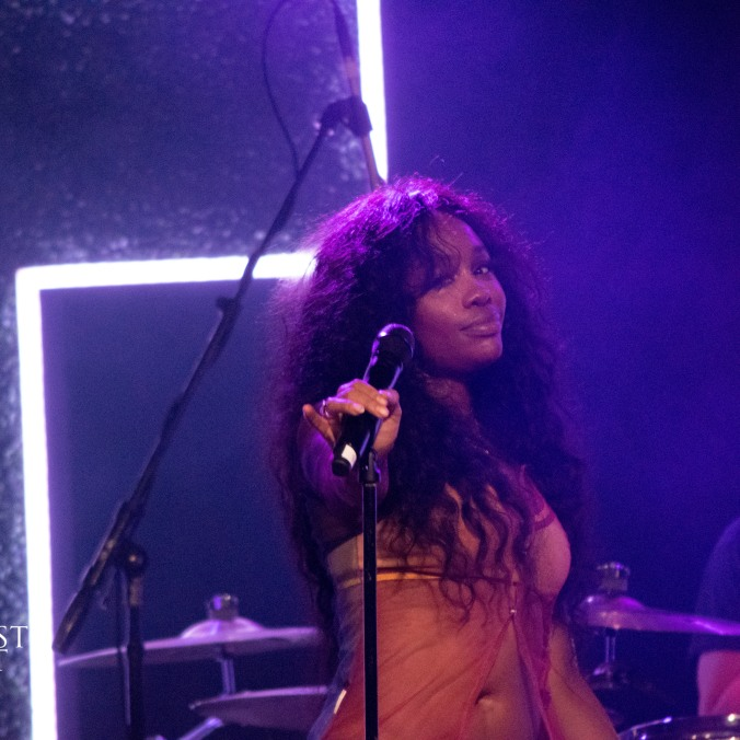 SZA - Ctrl Tour in Chicago