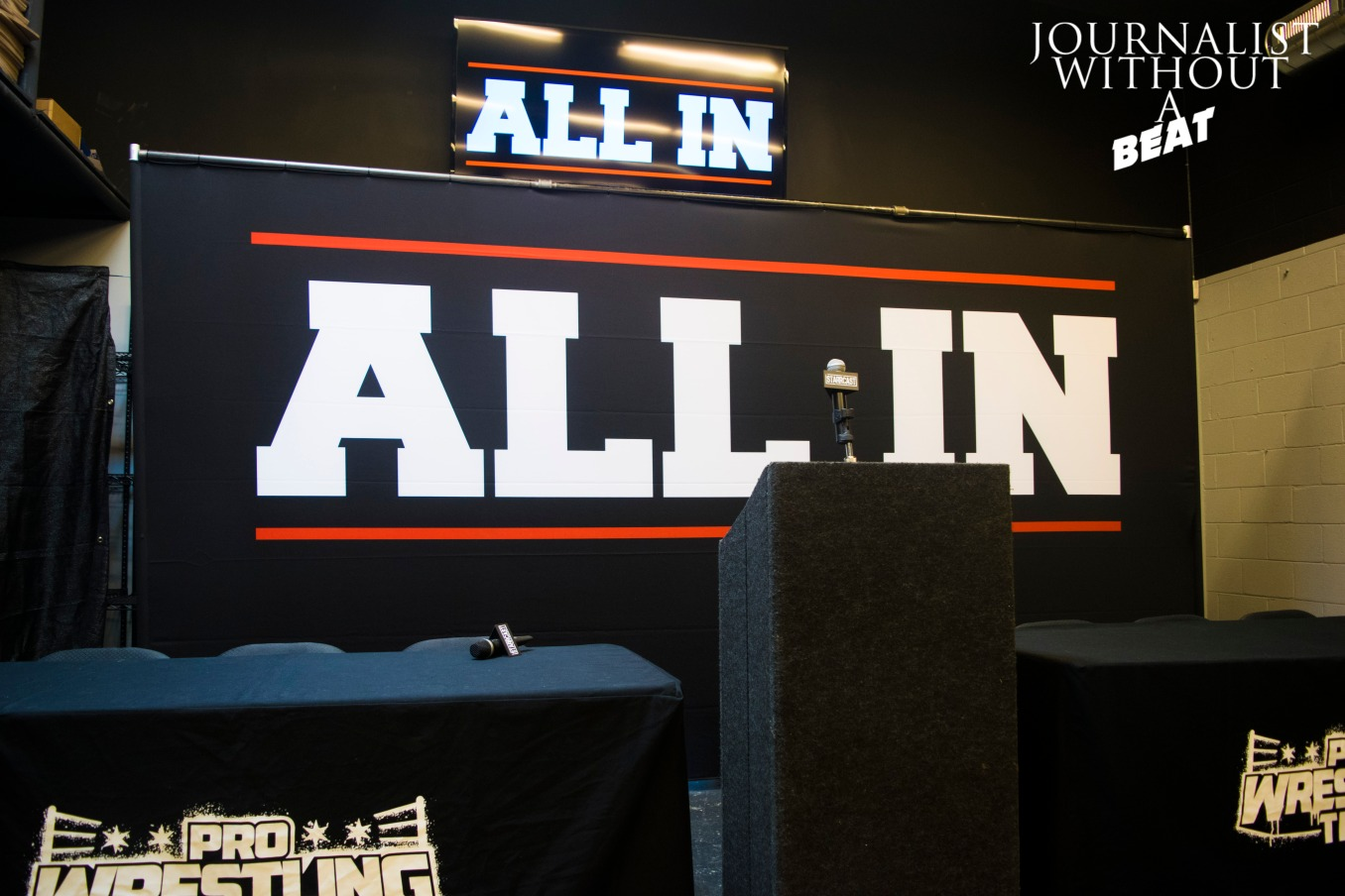 ALL IN Press Conference
