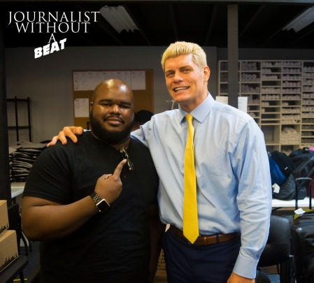 """Journalist Without A Beat meets """"The American Nightmare"""" Cody Rhodes"""