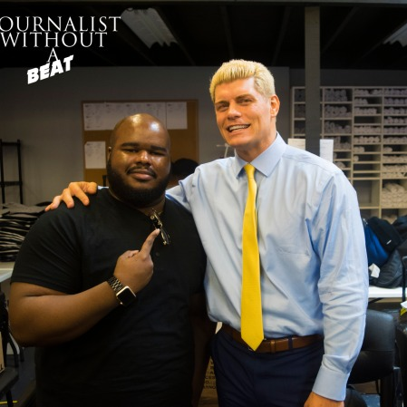 "Journalist Without A Beat meets ""The American Nightmare"" Cody Rhodes"