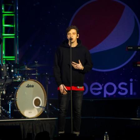 Lauv at B96 Pepsi Jingle Bash 2018