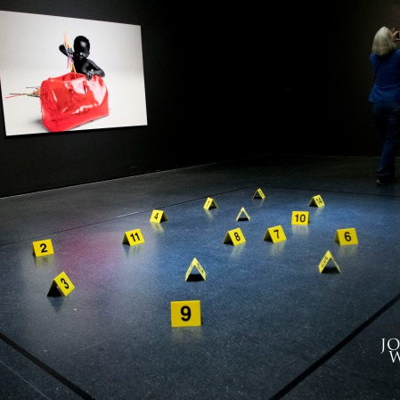 "Virgil Abloh's ""FIGURES OF SPEECH EXHIBIT (Photo by Tre G - Journalist Without A Beat)"